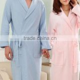 High quality 100%cotton cheap bathrobe,colorful bathrobe fabric,summer or spring thin bathrobe