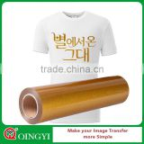 Qingyi heat transfer factory wholesale 8 colors glitter iron on vinyl rolls