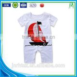 Healthy soft 100% cotton patch embroidered baby clothing set