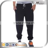 Black Solid Casual Mens Stylish Jogger Pants Cargo Loose Fit Tracksuit Pants
