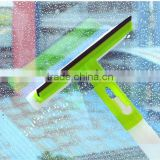 3 in 1 spray window squeegee with sponge and rubber, window cleaner, glass window cleaning wiper