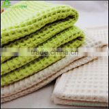 Waffle towel cotton fabric waffle towel bath printed cotton waffle sport&gym towel top promotional products