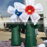 inflatable flower for outdoor yard display
