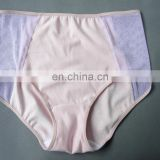 High-waisted underwear see-through french brief sexy transparent briefs underwear