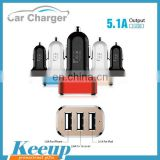 Custom dual usb car charger multi port usb chargers