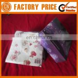 Top Quality Full Color Logo Printing White Paper Napkin