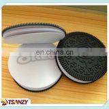 Fancy creative design rubber pvc oreo notebook