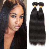 9a grade virgin peruvian human hair weave silky straight hair bundles weft,unprocessed,no mixed
