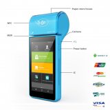 Handheld POS NFC Card Reader For Bus