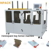Hennopack direct sale high speedCorrugated Box Trays erector machine