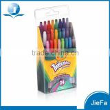 Packed Mix Color Twistable Crayon