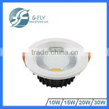 factory supply 30 watt cob downlight led for residential lighting                                                                         Quality Choice