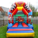 China manufactory wholesale dora inflatable bouncer , bouncy castle for kids/ inflatable bouncer house f