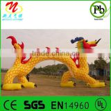 Inflatable dragon for events inflatable toy animal