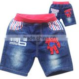 Wholesale big hero boy shorts children trousers sport pants casual pants