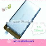 3.7V700mAh dvd player battery