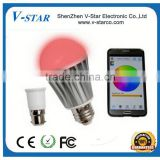 Music Alarm Group IOS Android Bluetooth Control LED Smart Bulb, Bluetooth Led Light Bulb, Bluetooth Led Bulb