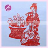 Best corporate executive gift luxury corporate gifts folk paper cutting Christmas gift ideas folk paper-cut JZ-33