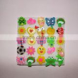 Children lovely PVC cartoon led flashing brooch for Festival&Parties ,Carnivals