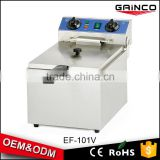 favorable price kitchen restaurant equipment potato chips electric fryer machine manufacturers EF101V