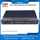 Excellent quality professional cross-network gsm roip gateway