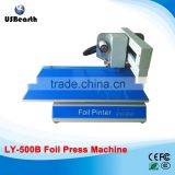 LY 500B foil press machine digital hot foil stamping printer machine best sales color business card printing