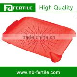 WFZ123573 Sinkstation Flat Red Color Plastic Kitchen Sink Strainer