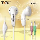2015 Computer accessories best selling cheap earphone with microphone for tablet pc laptop computer