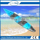 Low price high quality double plastic kayaks sale in china