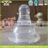 Silica Gel Nipple Type Custom Baby Bottle Nipple