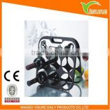 3 in 1 Kitchen Master 6pcs Wine Rack Wine Bottle Rack Hodler Shelf Barware Tool