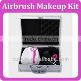 Airbrush Makeup System Foundation & Nail Spray Starter Kit Gravity Air Spray Gun, RECREATE THE FLAWLESS FILMSTAR FINISH AT HOME