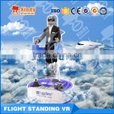Brand New VR Virtual Reality Dynamic Virtual Amusement Park 9D Cinema With Wonderful 9D Standing fly Simulator