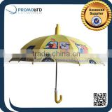 Cheap Promotional Kids Cartoon Character Umbrellas