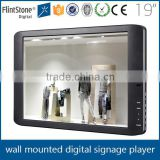 FlintStone 19 inch pos promotion vehicle show displays tool thin frame lcd display monitor