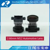 "2.66mm F2.0 1/3"" for CCD camera/cmos camera/IP camera manual focus and Iris machine vision lens"