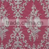 Elegant design embroidered lace tablecloth