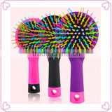 Wholesale high quality rainbow brush and magic hair comb                                                                         Quality Choice