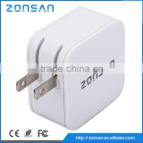 CE,ROHS,FCC Approved double usb charger , ODM/OEM quick deliver power sockets with smart IC