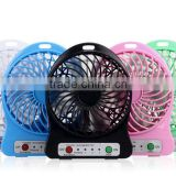 Factory Price Summer Cooling portable Mini hand Fans with battery operated rechargeable fans