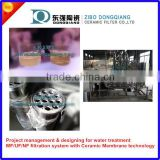 Ceramic membrane module with ss housing for ultra filtration system
