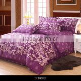 European floral pattern design bedding set hot sales bed sheets comfortable cotton fabric