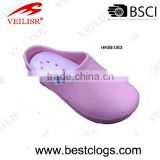 2016 Factory Wholesales High Quatity Anti-static Hostipal EVA Clogs Skid Resistance Nurse Shoes