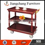 Hotel Serving Food Trolley With Brake-Service Trolley JC-TC30