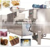 All-Natural Nutrition Bars, Double Dark Chocolate with Almond full-automatic machine oat chocolate making machine