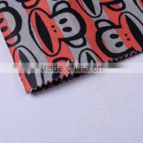 polyester fabric for sublimation printed with 100% polyester tourism supplies fabric