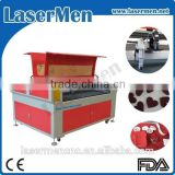High speed lasermen brand laser cutting engraving device for jeans