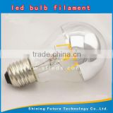 New 360 degrees A60 8W Shadowless led bulb E27 B22 base Dimmable filament Clear led glass lamp shade AC85-265V