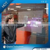Chariot inflatable movie screen for shop window display shop mall advertising store exhibition