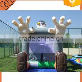 hot sale inflatable commercial and cheap bounce house, bouncy castle for inflatable park